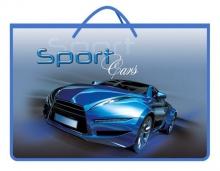 """Папка для рисунков """"Sport car синий"""""""
