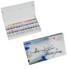 """Краски художественные акварельные """"Белые ночи"""", 36 цветов в пластиковой упаковке"""