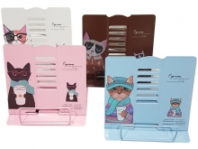 Подставка для книг металлическая Кошки MQ1874