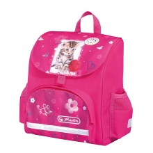 "Школьный ранец Herlitz Mini Soft Bag ""Pretty Pets Cat"""