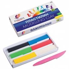 """Пластилин  """"КЛАССИКА"""" 6 цветов,стек, пластиковый вкладыш,  120 гр"""