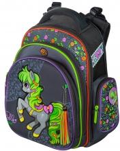 """Школьный ранец Hummingbird Kids ТК37 """"Belle Pony""""+мешок для обуви"""