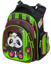 """Школьный ранец Hummingbird Kids ТK40 """"Girl panda""""+мешок для обуви"""