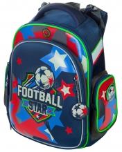 """Школьный ранец Hummingbird Kids ТК49 """"Football star""""+мешок для обуви"""