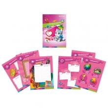 Листы-вкладыши для портфолио для девочек начальных классов 30 листов-вкладышей