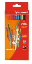 Карандаши цветные Stabilo 12 цветов