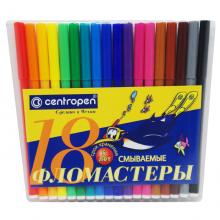 """Фломастеры в конверте """"Пингвин"""" 18 цветов"""
