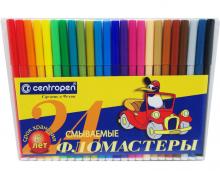 """Фломастеры в конверте """"Пингвин"""" 24 цвета"""