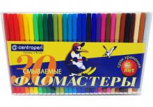 """Фломастеры в конверте """"Пингвин"""" 30 цветов"""