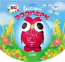 """Набор из гофрокартона для детского творчества """"Сова"""""""