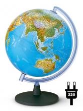 """Глобус Tecnodidattica """"Фалькон"""" (физич./политич.) с подсветкой. d30 cm"""