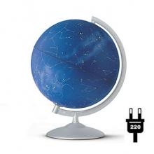 "Глобус Nova Rico ""Stellare"" (физич./политич..) с подсветкой. d30 cm"