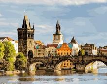 Картина по номерам Прага 40х50см.