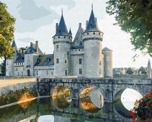Картина по номерам Каменный замок 40х50см.