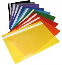 Папка-скоросшиватель прозрачный верхний лист