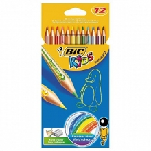 Карандаши цветные BIC KIDS Evolution, 12цв.карт.