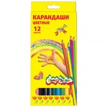 "Карандаши цветные ""Каляка-Маляка"" 12 цветов"