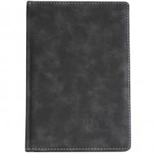 Ежедневник датированный A5, 2012 год, 176 л. Тёмно-серый (нубук)