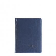 Ежедневник датированный A6 2012 год, 176 л. Синий