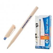 Ручка шариковая Paper Mate REPLAY, со стираемыми чернилами, синяя