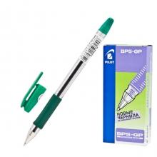 Ручка шариковая Pilot BPS-G, 0,32мм, зелёная
