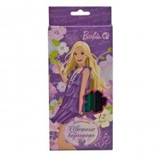 """Карандаши цветные """"Барби"""",18 цветов"""