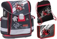 """Школьный ранец BELMIL Classy """"Moto Racer"""" с наполнением"""