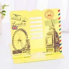 Подставка для книг металлическая Лондон MQ1109 Yellow