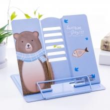 Подставка для книг металлическая Sunshine day MQ8601 light blue
