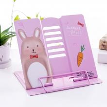 Подставка для книг металлическая Sunshine day MQ8601 pink