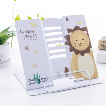 Подставка для книг металлическая Sunshine day MQ8601 white