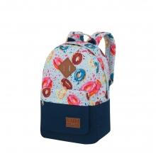 Рюкзак Asgard Р-5333Д Пончики голубой.