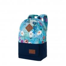Рюкзак Asgard Р-5333Д Цветы пастель голубой .