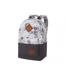 Рюкзак Asgard Р-5333Д Цветы пастель серый .