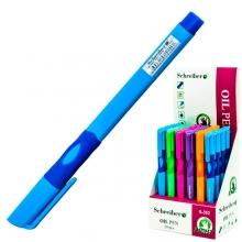 Ручка шариковая Schreiber для правшей 0,7мм, чернила на маслянной основе, цвет синий