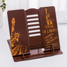Подставка для книг металлическая Travel 8890 Statue Of Liberty