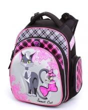 """Школьный ранец Hummingbird Kids ТК54 """"Sweet Cat""""+мешок для обуви"""