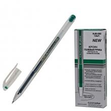 """Гелевая ручка """"Crown"""", зеленая"""
