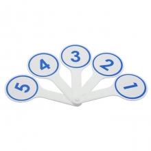 Касса-веер цифр от 1 до 10
